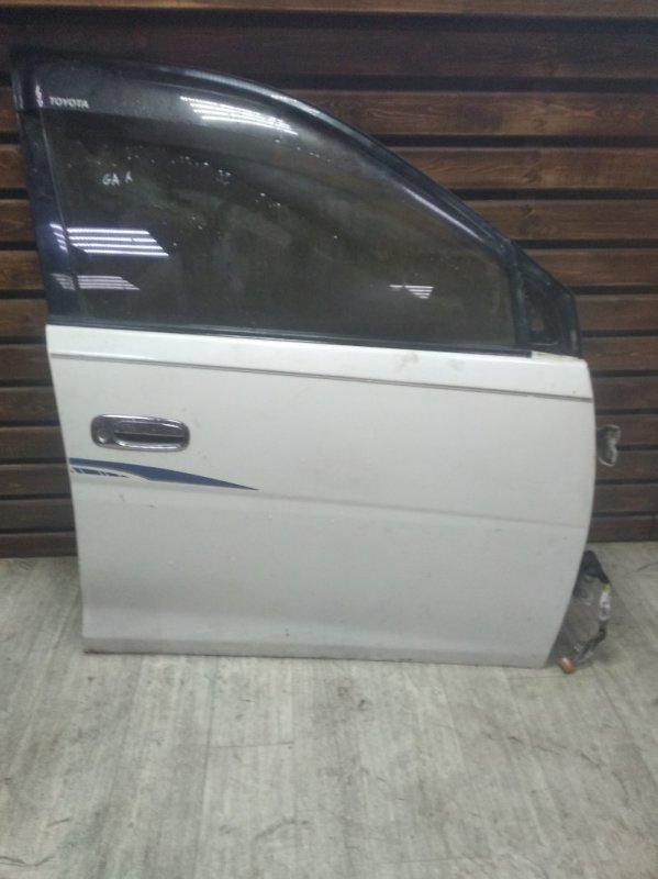 Дверь Toyota Gaia SXM15 передняя правая