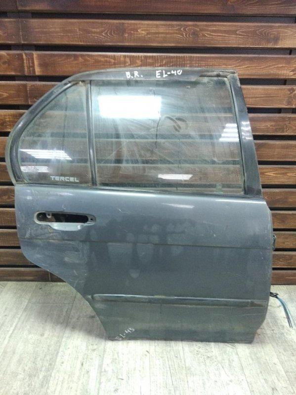 Дверь Toyota Tercel EL41 задняя правая