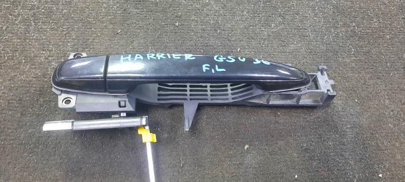 Ручка двери внешняя Toyota Harrier GSU36-0001514 2GRFE 2006 передняя левая