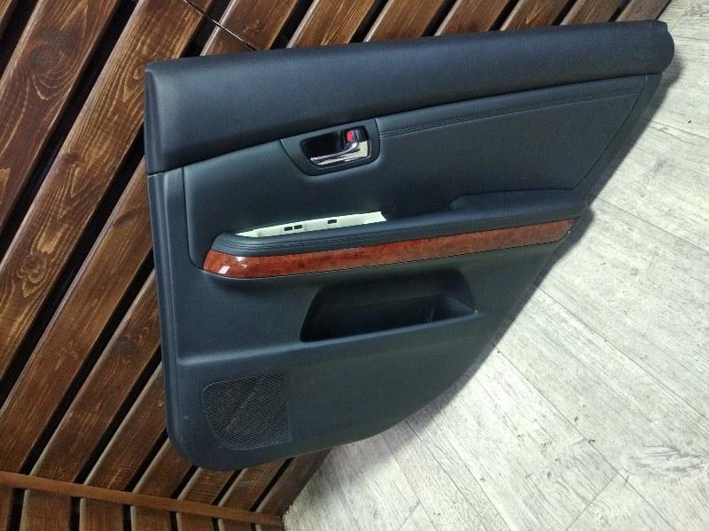 Обшивка двери Toyota Harrier GSU36-0001514 2GRFE 2006 задняя правая