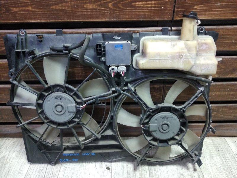 Диффузор радиатора Toyota Harrier GSU36-0001514 2GRFE 2006