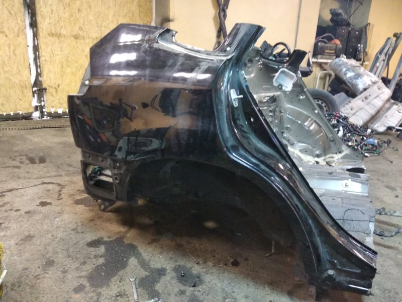 Задняя часть автомобиля Toyota Harrier GSU36-0001514 2GRFE 2006