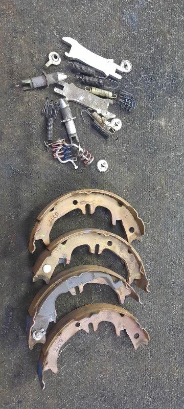 Механизм стояночного тормоза Toyota Harrier GSU36-0001514 2GRFE 2006