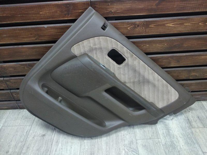 Обшивка двери Honda Crv RD5 задняя правая