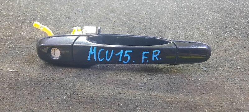 Ручка двери внешняя Toyota Harrier MCU15-0304266 1MZFE 2002 передняя правая