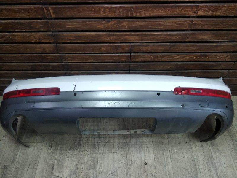 Бампер Audi Q7 4L задний