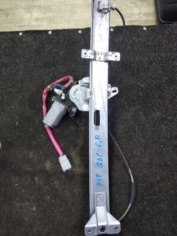 Стеклоподъемник Honda Fit GD1 передний правый