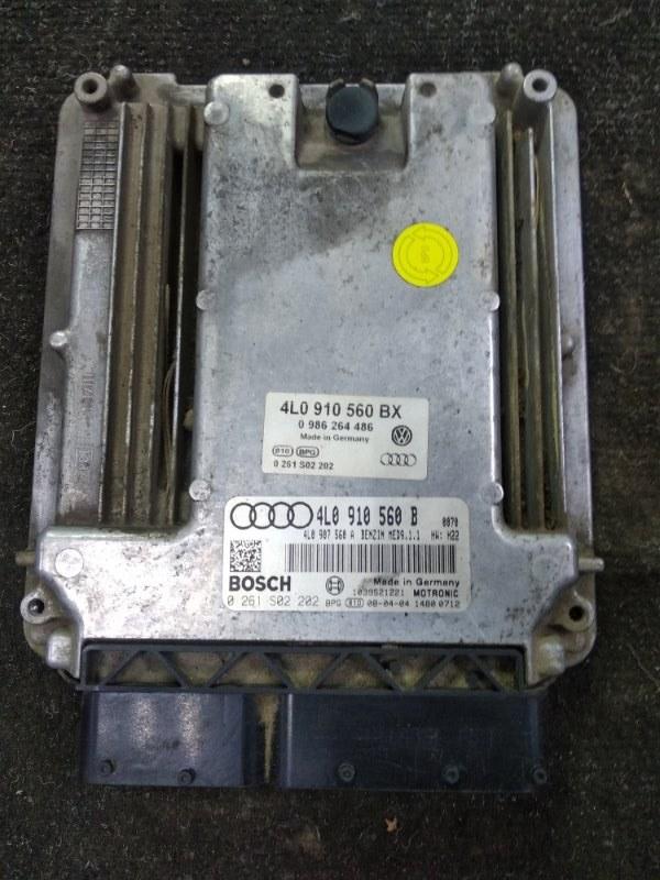 Блок efi Audi Q7 4L