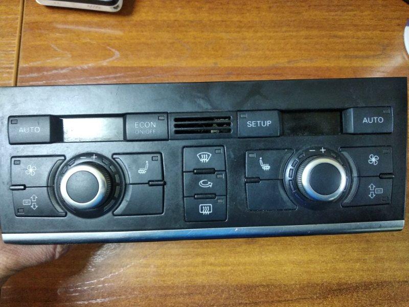 Блок управления климат контролем Audi Q7 4L