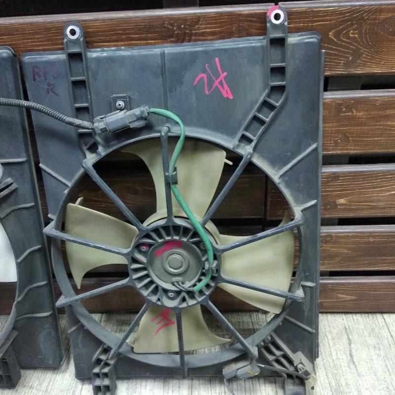 Диффузор радиатора Honda Step Wagon RF3 правый