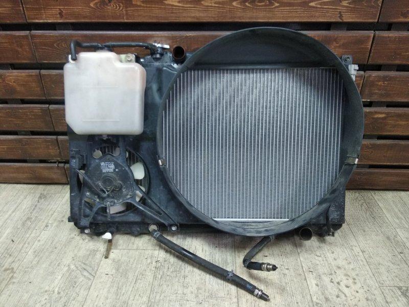 Радиатор основной Toyota Markii JZX90-6535127 1JZGE 1993