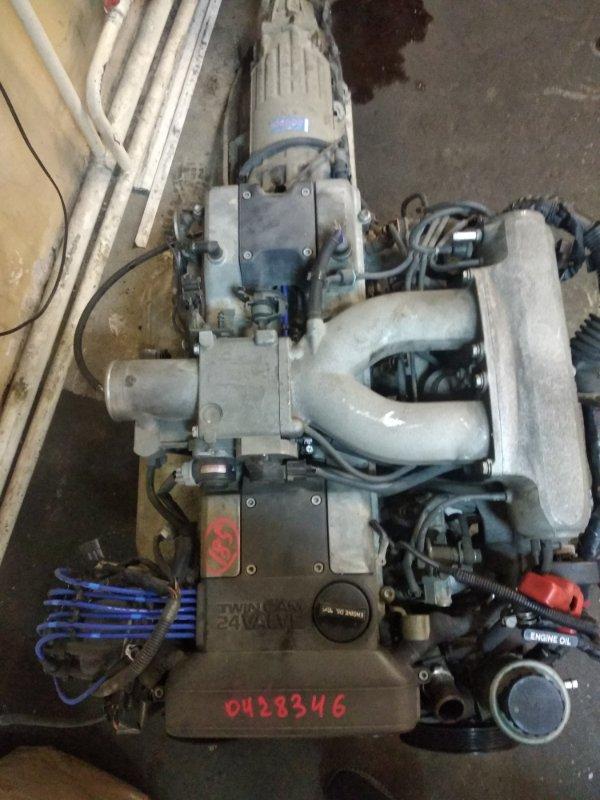 Двигатель Toyota Markii JZX90-6535127 1JZGE 1993