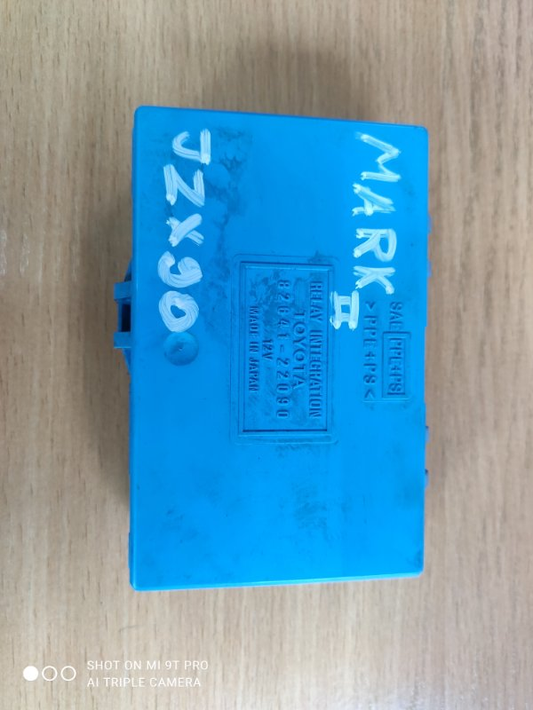 Блок комфорта Toyota Markii JZX90-6535127 1JZGE 1993