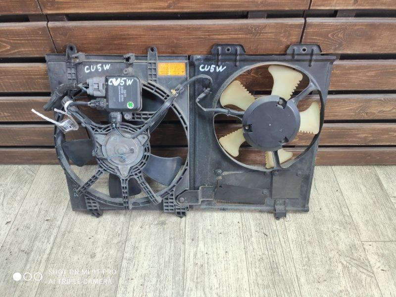 Диффузор радиатора Mitsubishi Airtrek CU5W 4G69