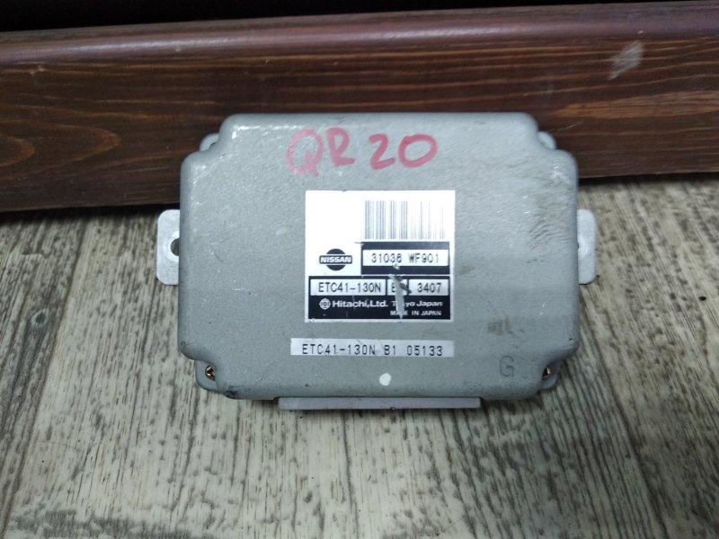 Блок управления Nissan Liberty RM12 QR20DE