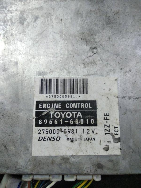 Блок efi Toyota Wish ZNE10 1ZZFE