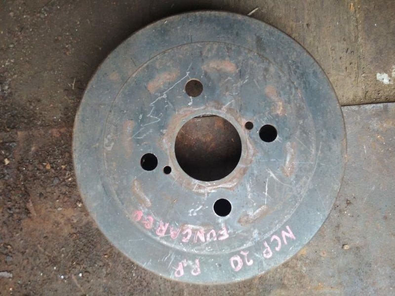 Тормозной барабан Toyota Funcargo NCP20 задний