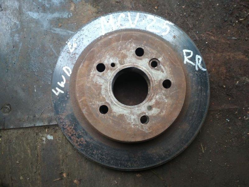 Тормозной диск Toyota Camry Gracia MCV25 задний