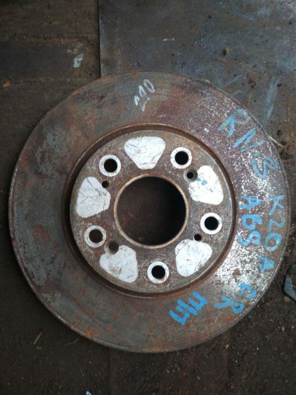 Тормозной диск Honda Stream RN3 передний