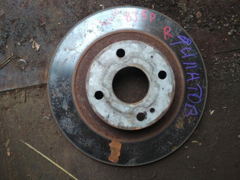 Тормозной диск Mazda Familia BJ5P задний