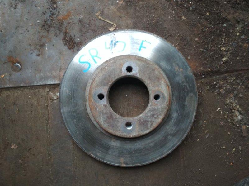 Тормозной диск Toyota Townace Noah SR40 передний