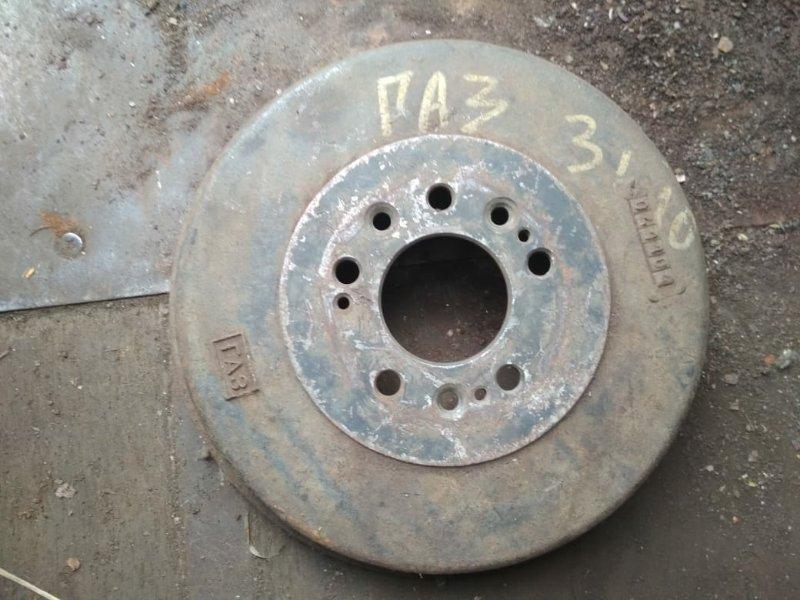 Тормозной барабан Gaz 31105 задний