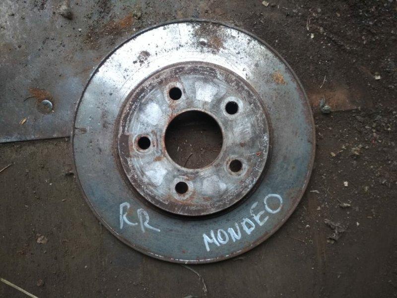 Тормозной диск Ford Mondeo задний