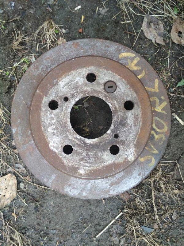 Тормозной диск Toyota Camry CV30 задний