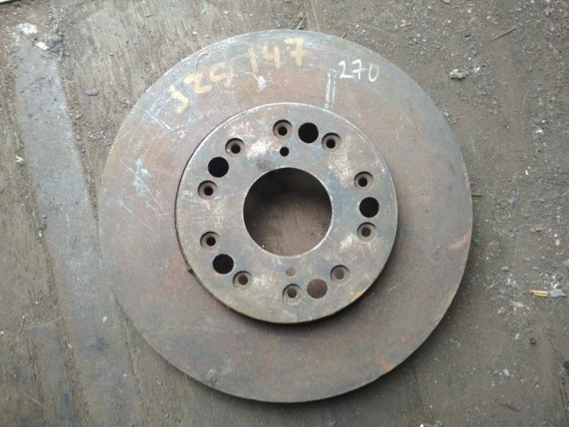 Тормозной диск Toyota Aristo JZS147 2JZGTE передний
