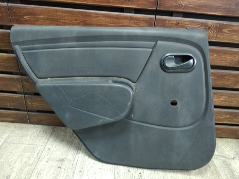 Обшивка двери Renault Logan задняя левая