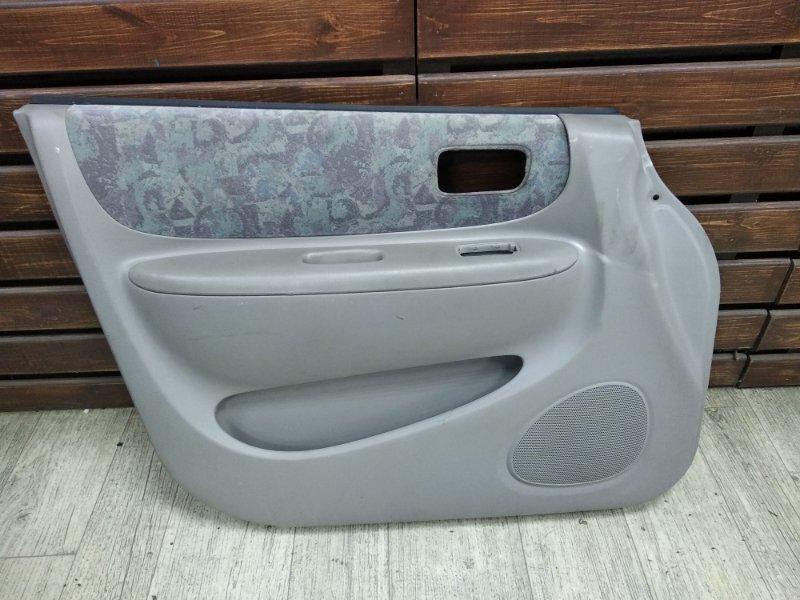 Обшивка двери Toyota Corolla Spacio AE111 7AFE передняя левая
