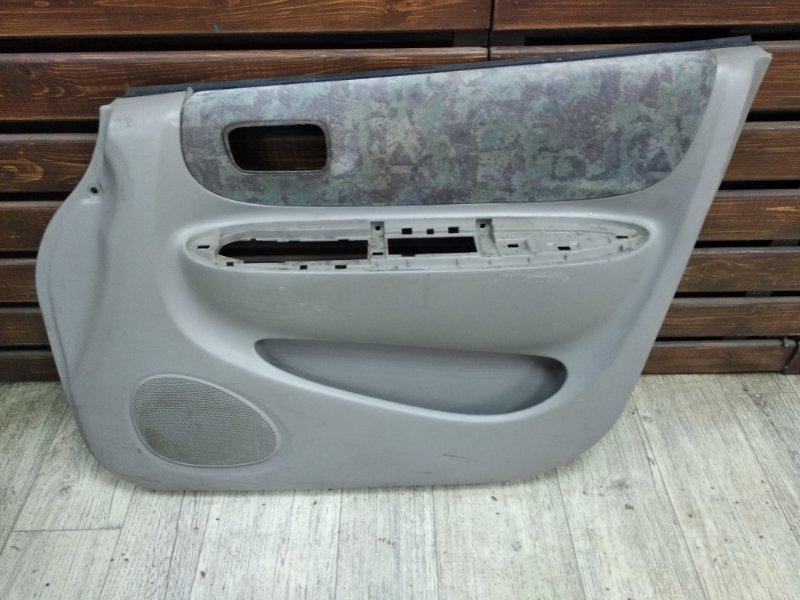 Обшивка двери Toyota Corolla Spacio AE111 7AFE передняя правая