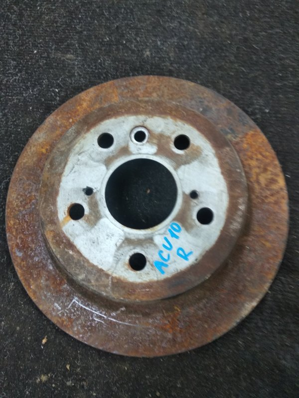 Тормозной диск Toyota Harrier ACU10 задний