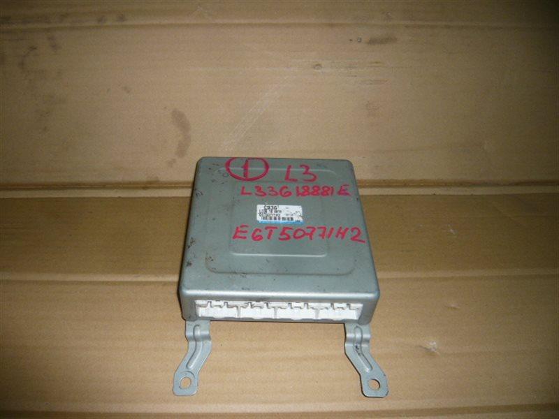 Блок управления efi Mazda Mpv LW3W L3 E6T50-771H2