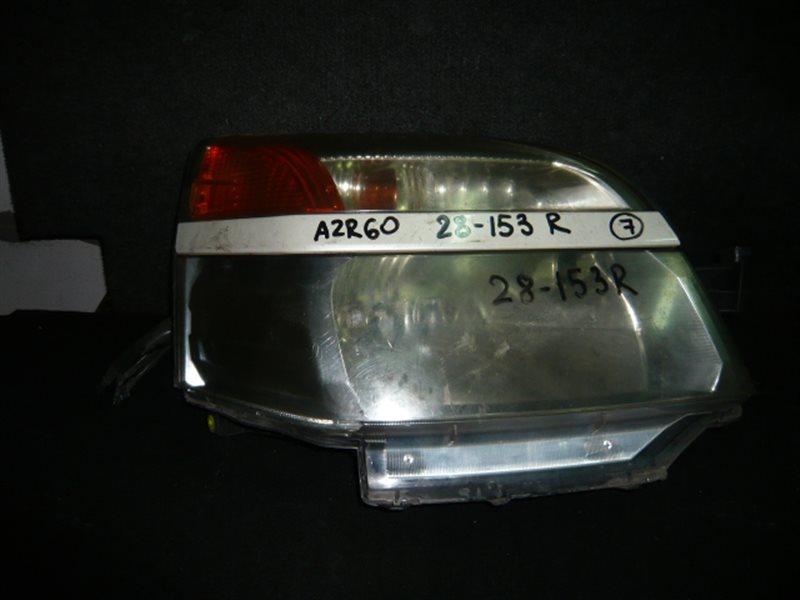 Фара Toyota Voxy AZR60 передняя правая 28-153