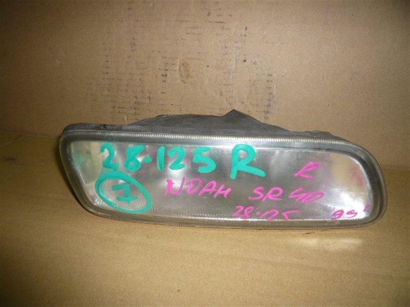 Туманка Toyota Town Ace Noah CR40 правая 28-125