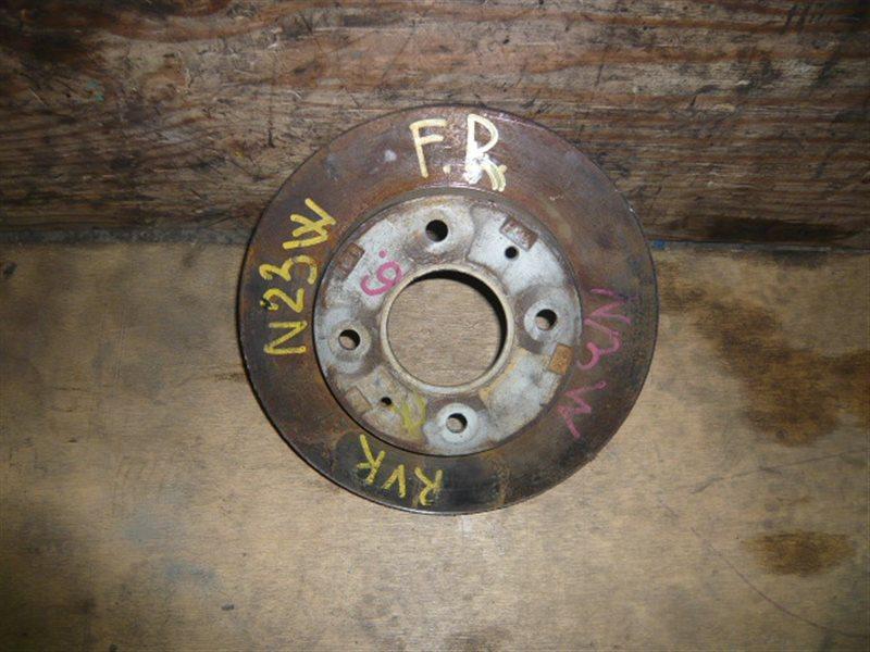 Тормозной диск Mitsubishi Rvr N23W 4 шпильки