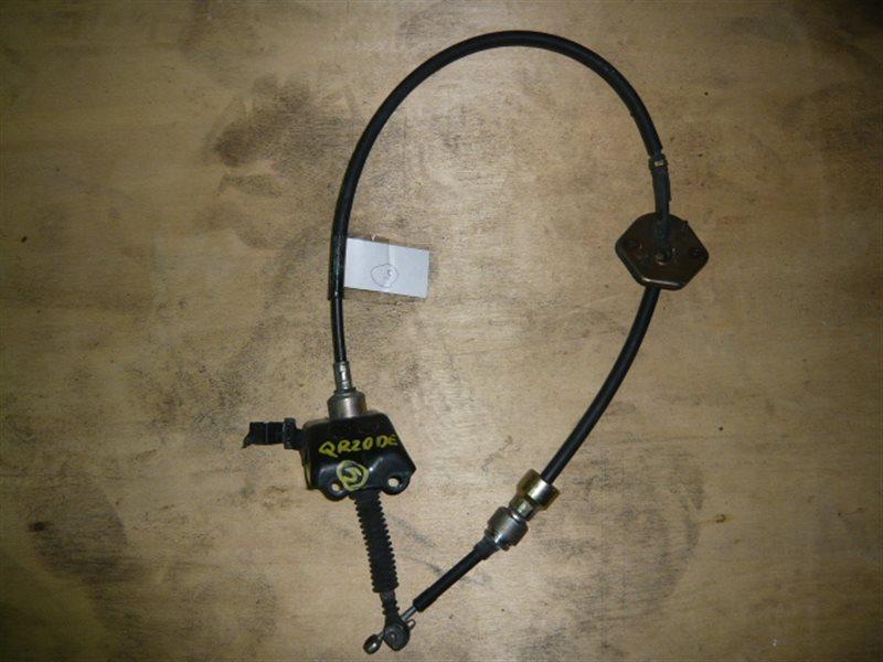 Трос переключения акпп Nissan Liberty RM12 QR20DE 34935-WF700