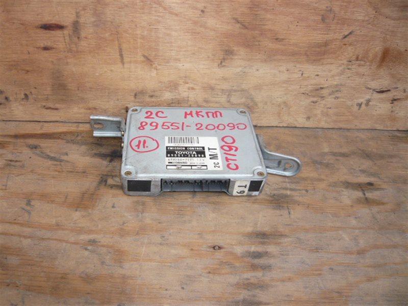 Блок управления efi Toyota Corona CT190 2C 89551-20090