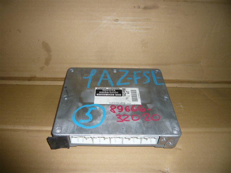 Блок управления efi Toyota Vista Ardeo AZV50 1AZ-FSE 89666-32020