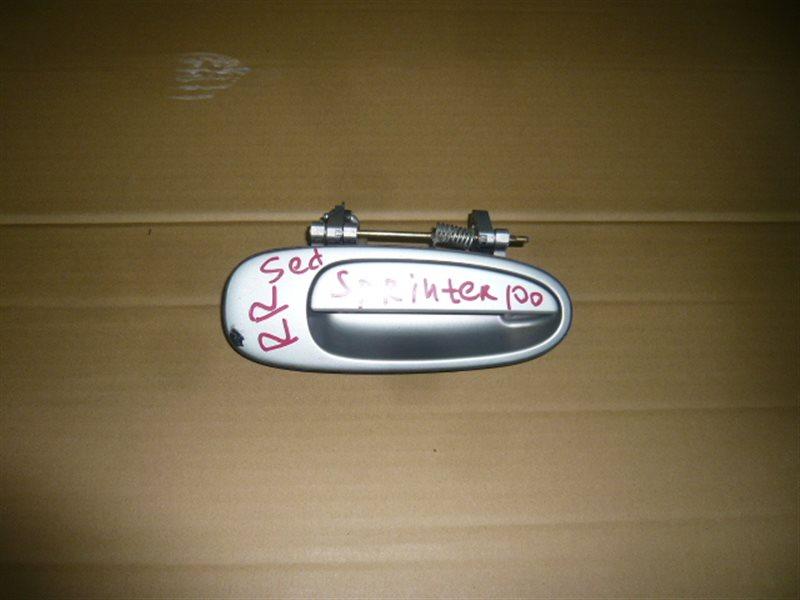 Ручка двери внешняя Toyota Sprinter AE100 задняя правая