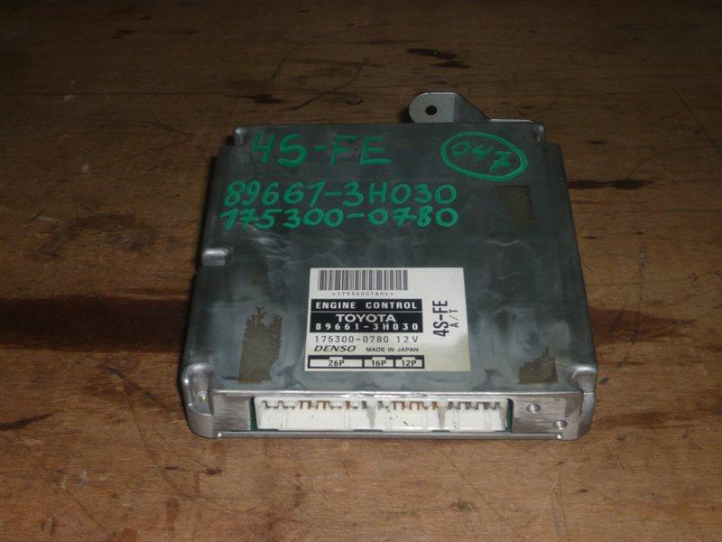 Блок управления efi Toyota Camry SV40 4S-FE