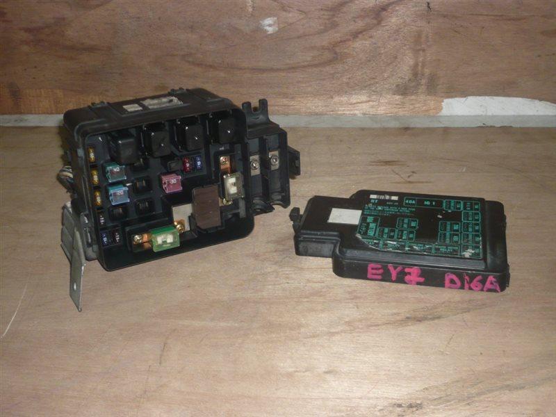 Блок предохранителей Honda Partner EY6 D15B
