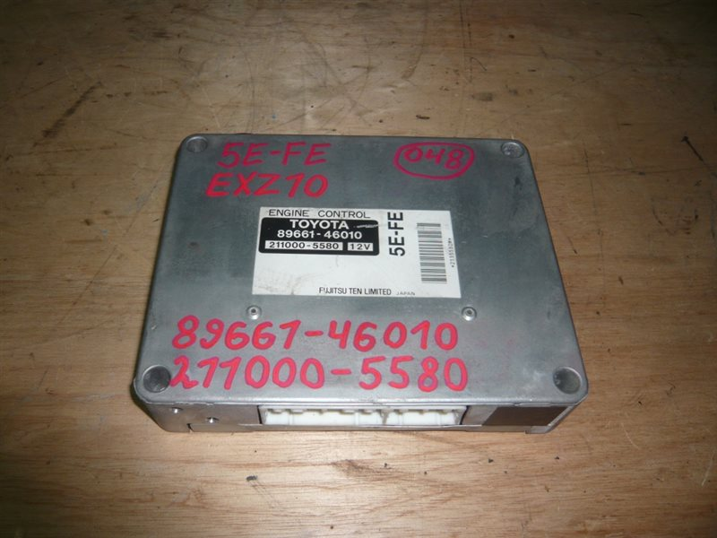 Блок управления efi Toyota Raum EXZ10 5E-FE