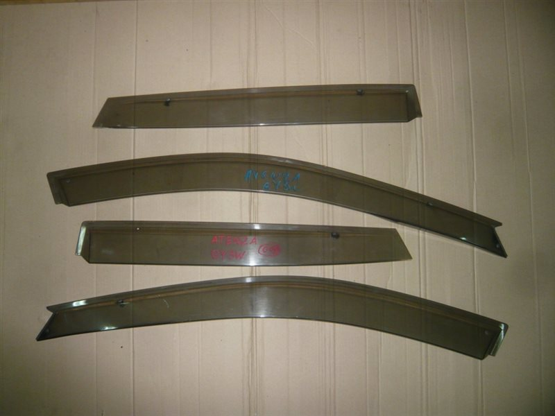 Ветровики комплект Mazda Atenza GY3W