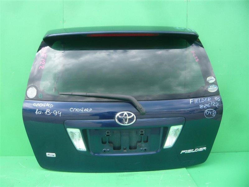 Дверь задняя Toyota Corolla Fielder NZE121 04.2004 13-94