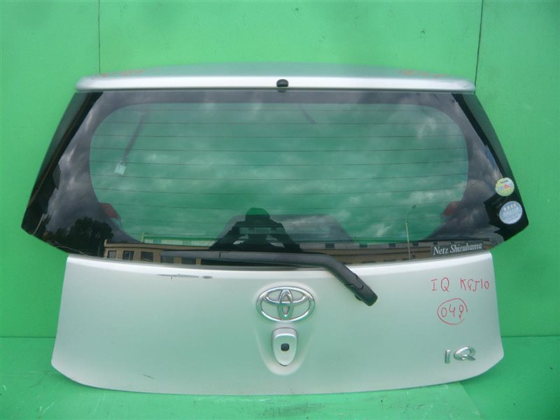 Дверь задняя Toyota Iq KGJ10