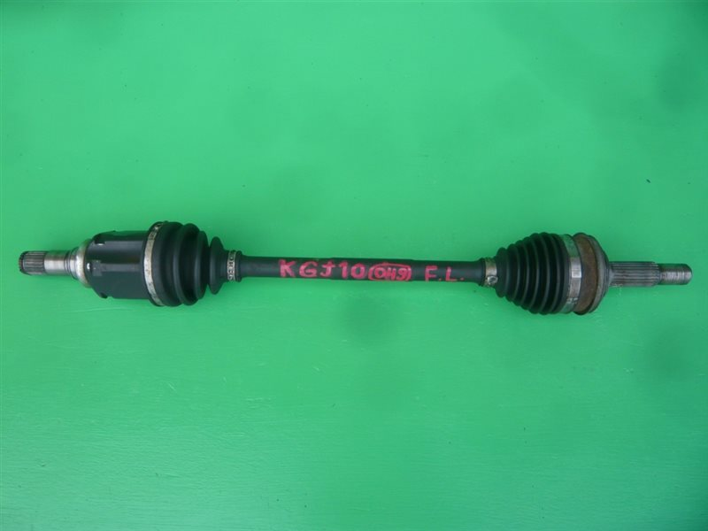 Привод Toyota Iq KGJ10 1KR-FE передний левый 43420-74020