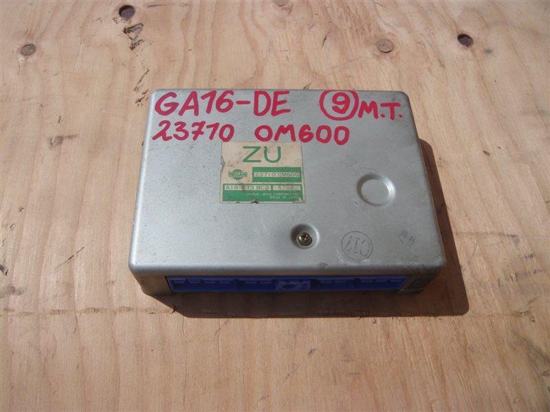Блок управления efi Nissan Pulsar EN15 GA16DE 23710-0M600, A18-E73 BC3