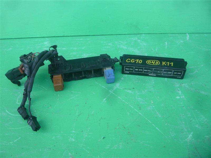 Блок реле Nissan March K11 CG10DE